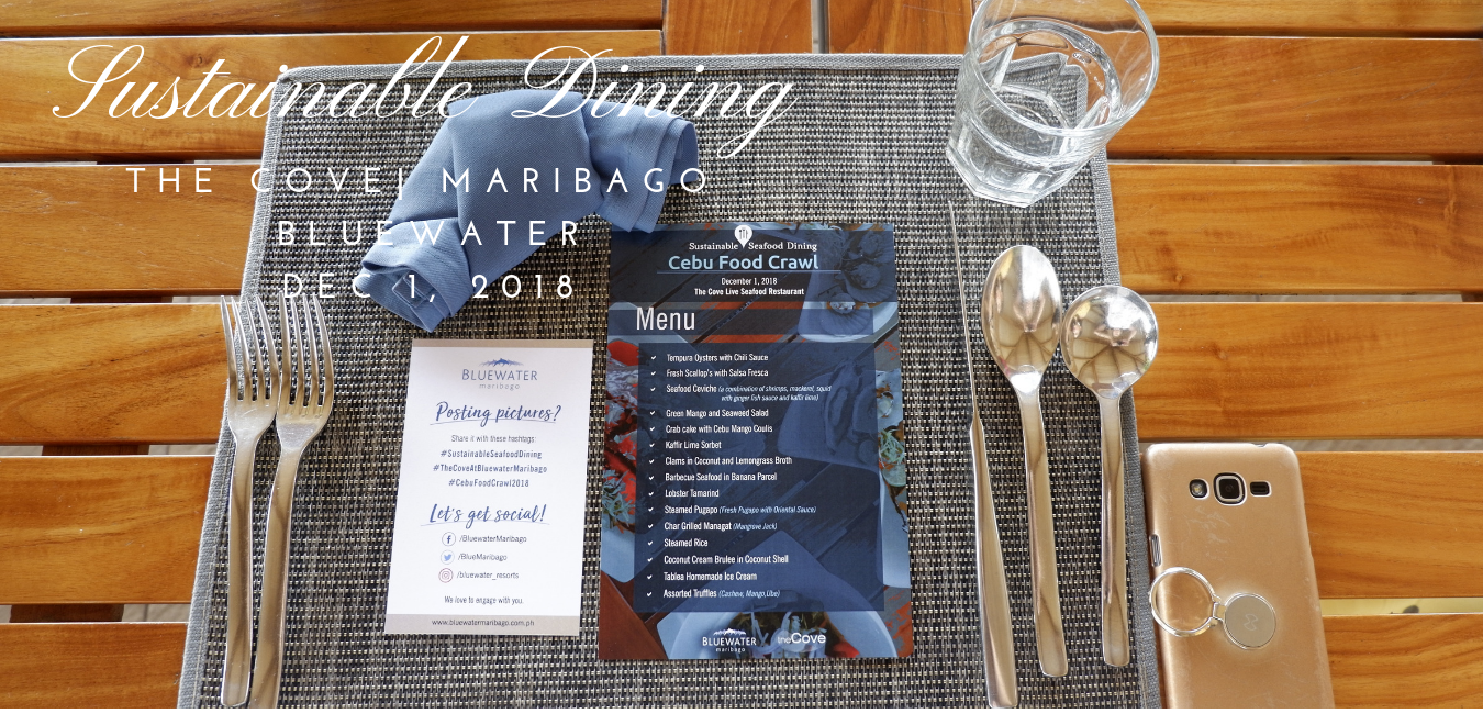 Foodie Trails in Cebu: Sustainable Dining at The Cove in Bluewater Maribago