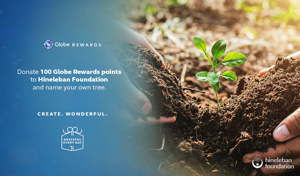 Restoring Rainforests? You Can By Using Globe Rewards!